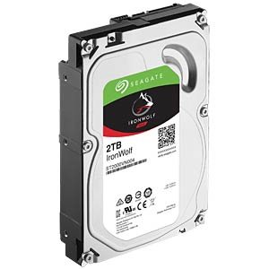 NAS-harde schijf, 2 TB, Seagate IronWolf SEAGATE ST2000VN004