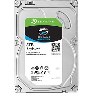 Video-Festplatte, 3 TB, Seagate SkyHawk SEAGATE ST3000VX010
