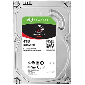 Disque dur NAS Seagate IronWolf, 4 To SEAGATE ST4000VN008
