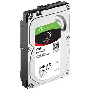 NAS-Festplatte, 4 TB, Seagate IronWolf SEAGATE ST4000VN008