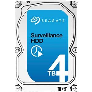 Seagate Surveillance 3,5-Zoll HDD mit 4 TB SEAGATE ST4000VX000