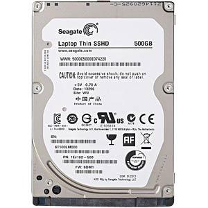 Notebook-Hybridplatte, 500 GB, Seagate SSHD SEAGATE ST500LM000