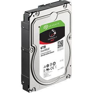 6TB Festplatte Seagate IronWolf - NAS SEAGATE ST6000VN0033