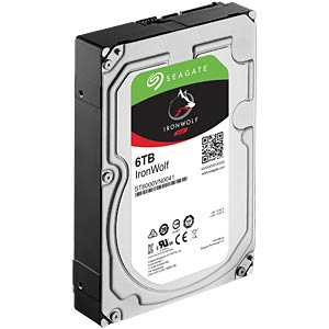 6TB Festplatte Seagate IronWolf - NAS SEAGATE ST6000VN0041