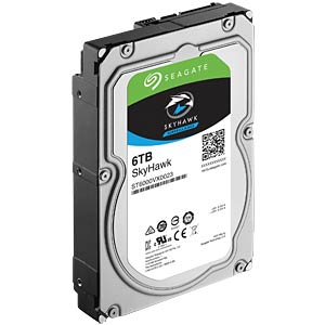 6TB Festplatte Seagate SkyHawk - Video SEAGATE ST6000VX0023