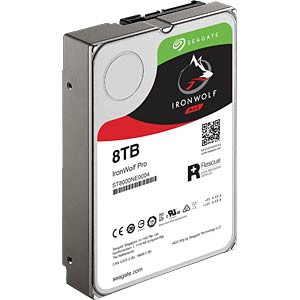 8TB Festplatte Seagate IronWolf Pro - NAS SEAGATE ST8000NE0004