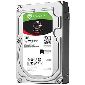 NAS-Festplatte, 8 TB, Seagate IronWolf Pro SEAGATE ST8000NE0021