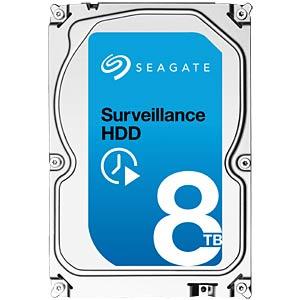 3.5-inch HDD, 8 TB, Seagate Surveillance SEAGATE ST8000VX0002