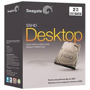 Desktop-Hybridplatte, 2 TB, Seagate SSHD Kit SEAGATE STCL2000400