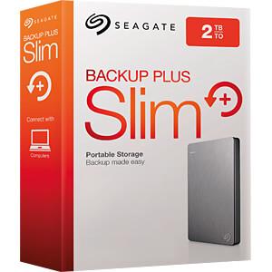Seagate Backup Plus Portable 2TB silber SEAGATE STDR2000201