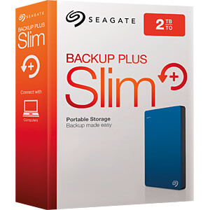 Seagate Backup Plus Portable 2TB blau SEAGATE STDR2000202
