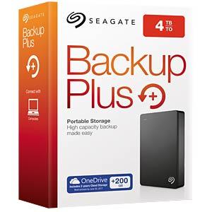 Seagate Backup Plus Portable 4TB schwarz SEAGATE STDR4000200