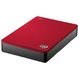 Seagate Backup Plus Portable, 4 TB, red SEAGATE STDR4000902