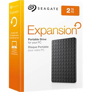 Seagate Expansion Portable 2 TB, USB 3.0 SEAGATE STEA2000400