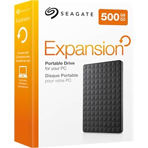 Seagate Expansion Portable 500 GB, USB 3.0 SEAGATE STEA500400