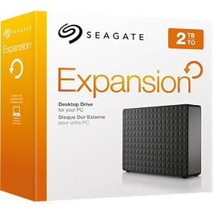 Seagate Expansion Desktop (2015) 2TB, USB 3.0 SEAGATE STEB2000200