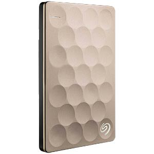 Seagate Backup Plus Ultra Slim 1TB gold SEAGATE STEH1000201