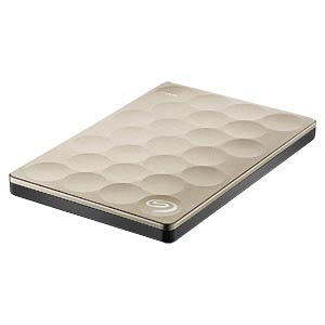 Seagate Backup Plus Ultra Slim 2TB gold SEAGATE STEH2000201