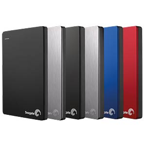 Seagate Backup Plus Portable 1TB silber SEAGATE STDR1000201