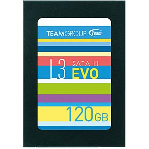 "Team Group L3 EVO SSD 120GB 6,35cm (2,5"") TEAM GROUP T253LE120GTC101"