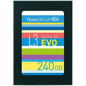 "Team Group L3 EVO SSD 240GB 6,35cm (2,5"") TEAM GROUP T253LE240GTC101"