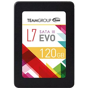 "Team Group L7 Evo SSD 120 GB 6.35 cm (2.5"") TEAM GROUP T253L7120GTC101"