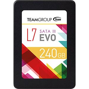 "Team Group L7 Evo SSD 240 GB 6.35 cm (2.5"") TEAM GROUP T253L7240GTC101"