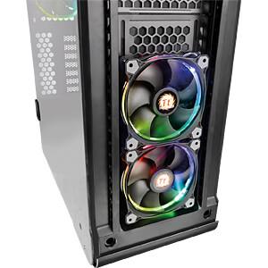 Thermaltake Tower VIEW 37 TG RGB schwarz THERMALTAKE CA-1J2-00M1WN-00