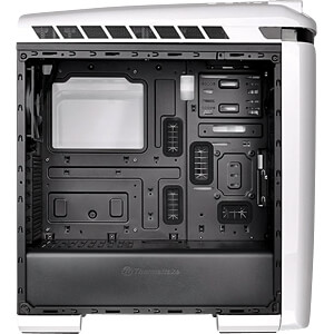 Thermaltake Tower VERSA C22 RGB Snow weiß THERMALTAKE CA-1G9-00M6WN-00