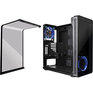 Thermaltake Tower View 37 schwarz THERMALTAKE CA-1J7-00M1WN-00