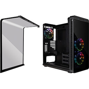 Thermaltake Tower View 37 RGB Plus schwarz THERMALTAKE CA-1J7-00M1WN-01