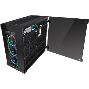 Thermaltake Tower View 91 TG RGB schwarz THERMALTAKE CA-1I9-00F1WN-00
