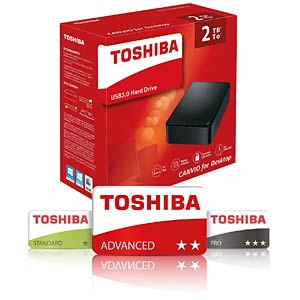 2TB Toshiba Canvio for Desktop TOSHIBA HDWC320EK3JA