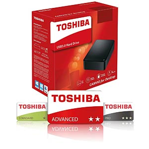 Toshiba Canvio for Desktop 6 TB TOSHIBA HDWC360EK3JA