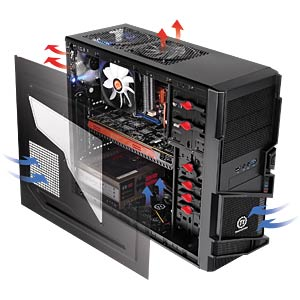 Thermaltake Miditower Commander MS-1 THERMALTAKE VN400A1W2N