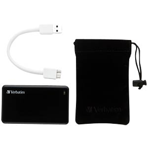 Verbatim USB SSD Store n Go 256GB VERBATIM 47623