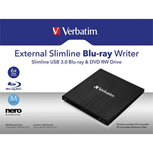 Blu-ray Brenner USB3.0 Verbatim VERBATIM 43890