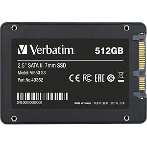 Verbatim Vi550 S3 SSD 512 GB VERBATIM 49352