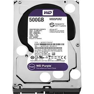 500GB Festplatte WD Purple - Video WESTERN DIGITAL WD05PURZ