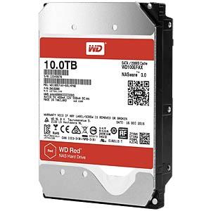 10TB Festplatte WD RED - NAS WESTERN DIGITAL WD100EFAX