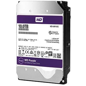 10TB Festplatte WD Purple - Video WESTERN DIGITAL WD100PURZ