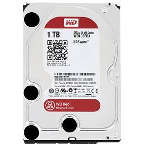 1TB Festplatte WD RED - NAS WESTERN DIGITAL WD10EFRX