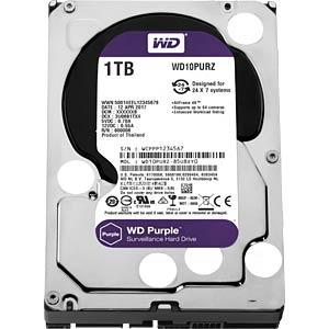 1TB Festplatte WD Purple - Video WESTERN DIGITAL WD10PURZ