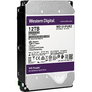 12TB Festplatte WD Purple - Video WESTERN DIGITAL WD121PURZ