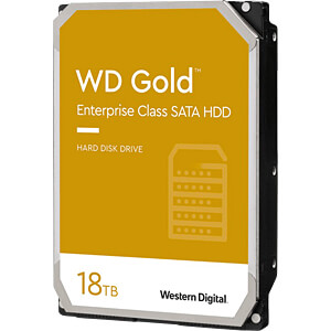 18TB Festplatte WD Gold - Datacenter WESTERN DIGITAL WD181KRYZ