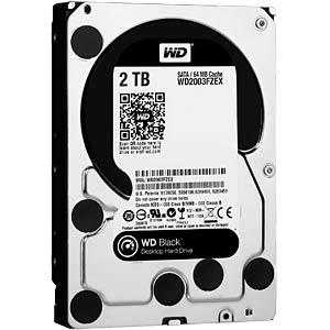 2TB Festplatte WD Black - Desktop WESTERN DIGITAL WD2003FZEX