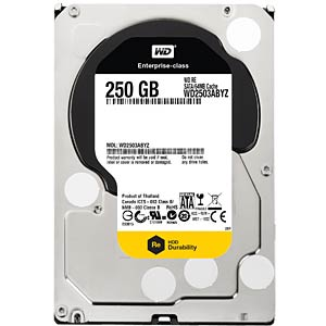 Desktop hard drive, 250GB, WDRe WESTERN DIGITAL WD2503ABYZ
