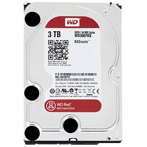 Desktop hard drive, 3 TB, WD Red OEM WESTERN DIGITAL WD30EFRX OEM