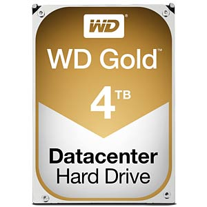WD Gold 3.5-inch data centre HDD with 4 TB capacity WESTERN DIGITAL WD4002FYYZ