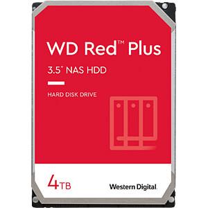 WD Red Plus NAS-Festplatte mit 4TB WESTERN DIGITAL WD40EFRX
